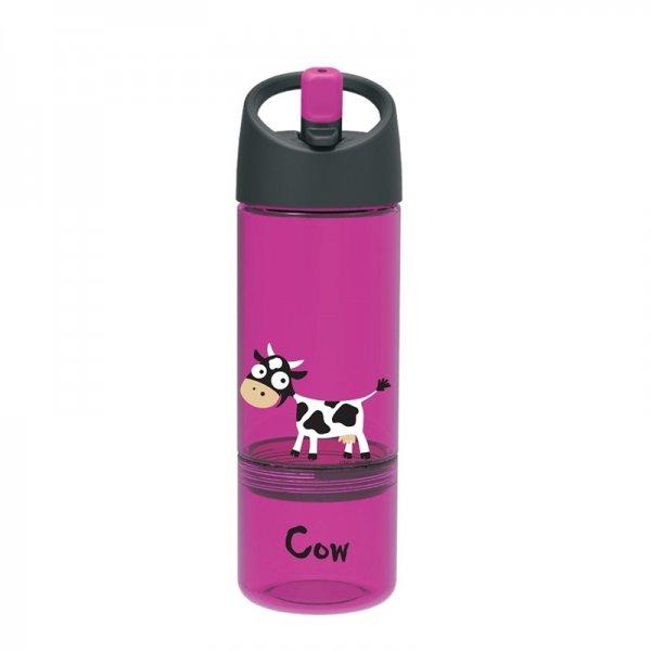 Carl Oscar παγουράκι νερού 2 σε 1 cow μωβ