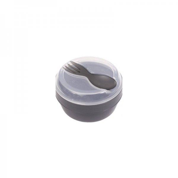 Carl Oscar nice cup μπολ φαγητού 4 σε 1 μαύρο