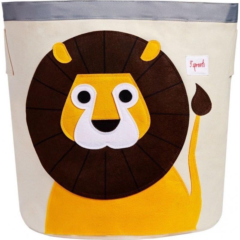 3Sprouts Storage Bin καλάθι αποθήκευσης Lion