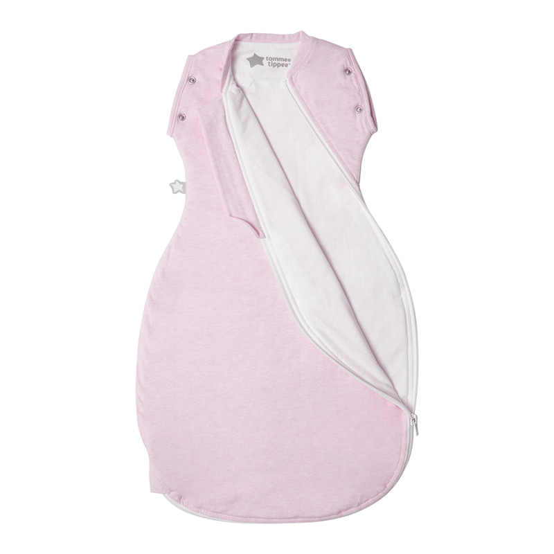 Tommee Tippee GroSnuggle Φθινοπωρινός Υπνόσακος Pink Marl 3-9m 1.0 Tog