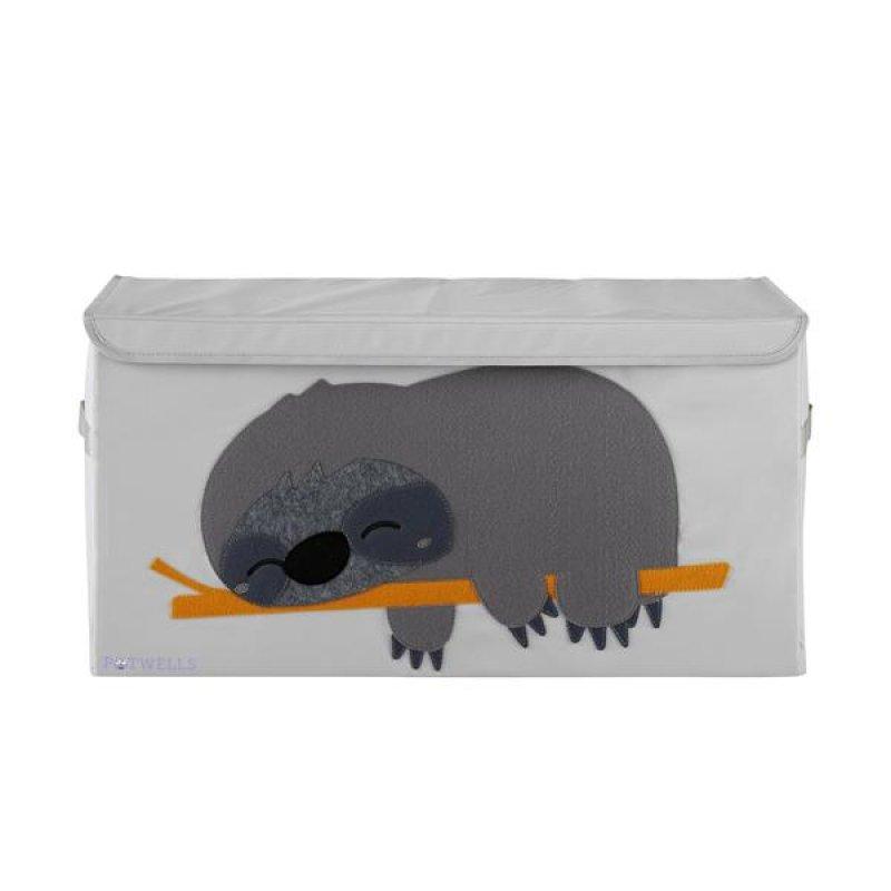 Potwells Κουτί Αποθήκευσης Sloth 64x32x32 cm