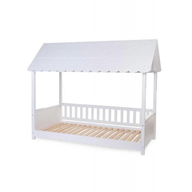 Κρεβάτι Childhome Rooftop 90*200 White