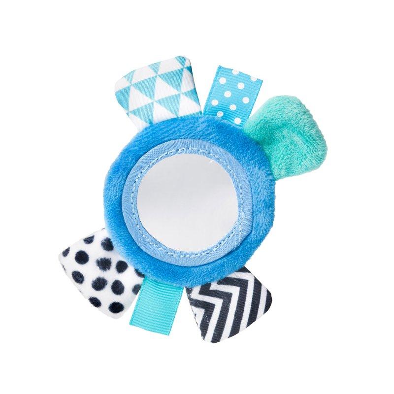 Canpol babies Μαλακό Παιχνίδι Καρπού με Velcro ZigZag Blue 0m+