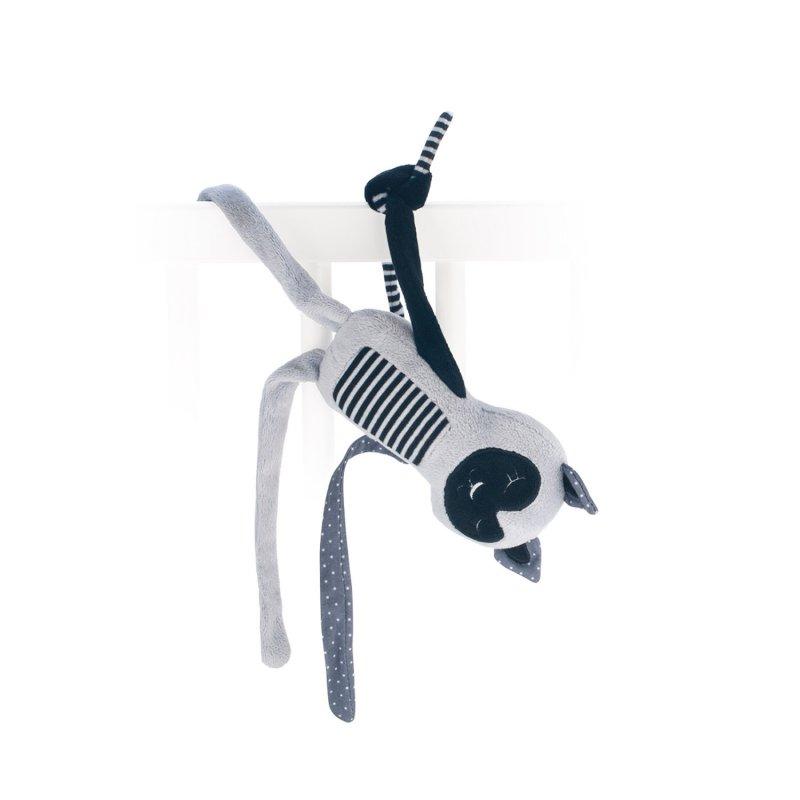 Canpol Babies Jungle Κρεμαστό Παιχνίδι Sleeping Lemur Grey 0m+