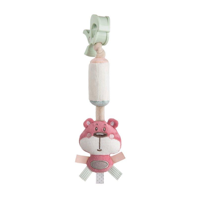 Canpol Babies Κουδουνίστρα Pastel Friends Pink