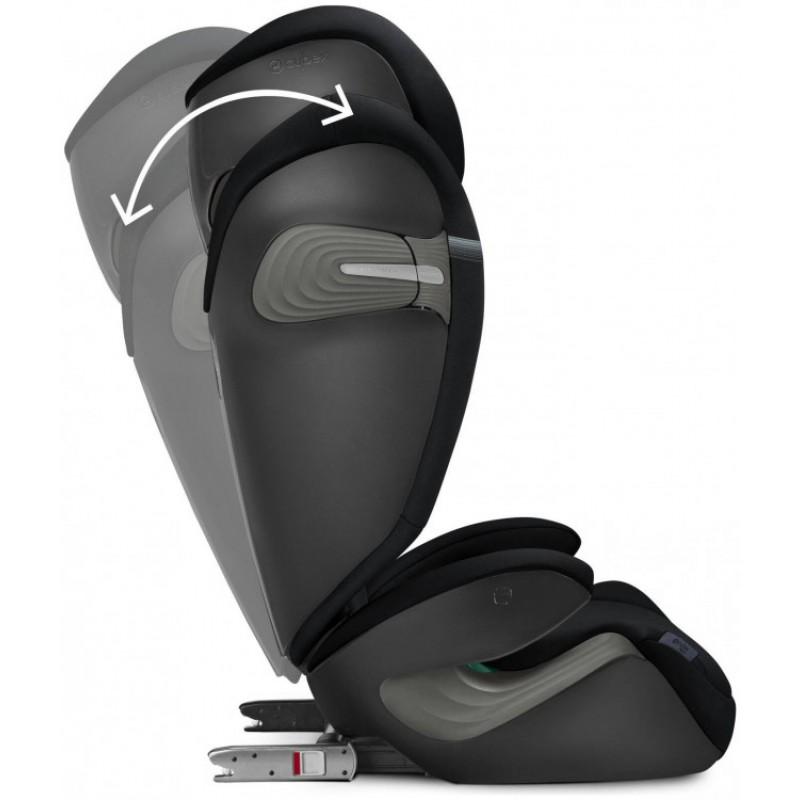 Cybex Solution S2 i-Fix παιδικό κάθισμα αυτοκινήτου Deep Black 100-150 cm