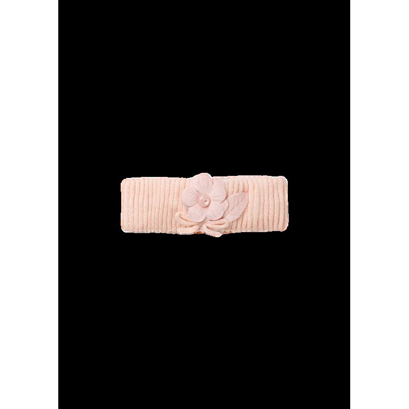 Mayoral κορδέλα πλεκτή 09441-067 ροζ μπεμπέ