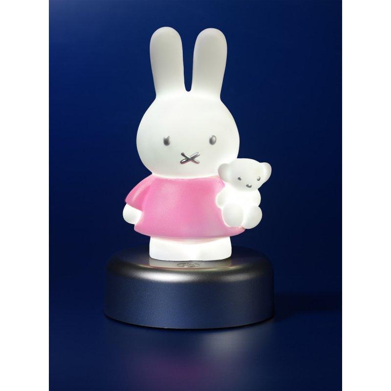 Miffy Φωτάκι Νυκτός Led με Χρονοδιακόπτη Pink