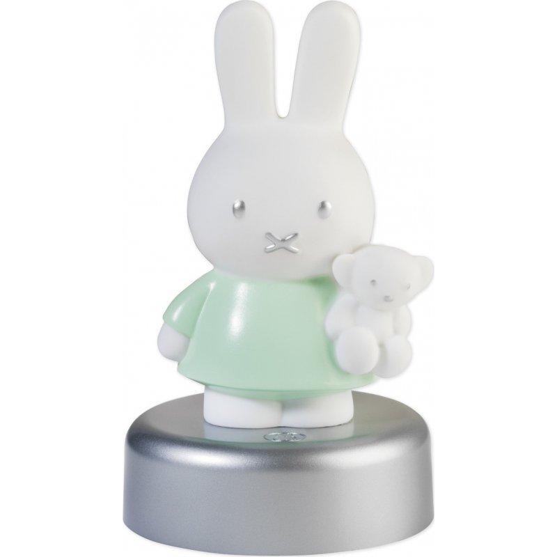 Miffy Φωτάκι Νυκτός Led με Χρονοδιακόπτη Mint