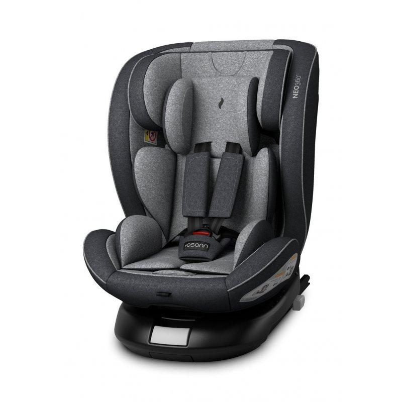 Osann Neo 360º Κάθισμα Αυτοκινήτου Universe Grey 0-36kg