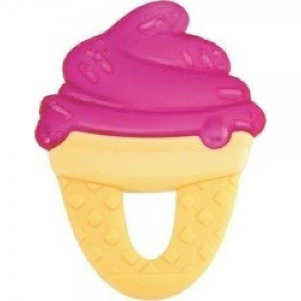 Chicco δροσιστικός κρίκος οδοντοφυίας παγωτό ρόζ