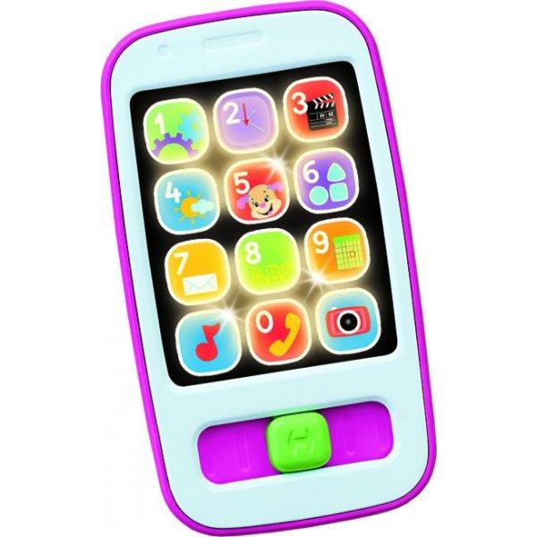 Fisher Price Εκπαιδευτικό Smart Phone Ροζ CGH59