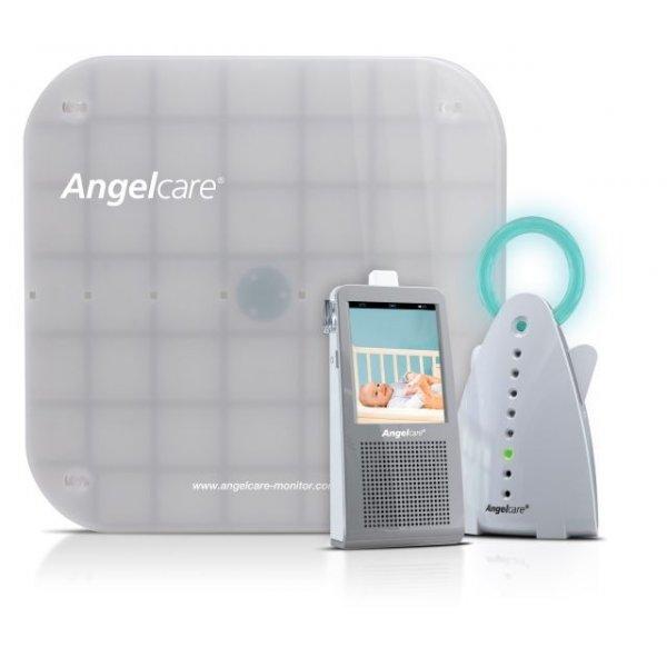 AngelCare Συσκευή Πρόληψης Παιδικής Άπνοιας - Ενδοεπικοινωνία με Camera AC1100