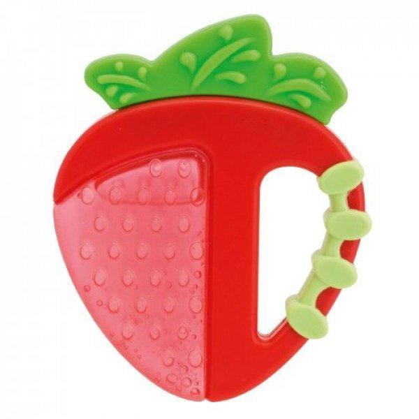Chicco κρίκος οδοντοφυΐας fresh relax 4m+ φράουλα