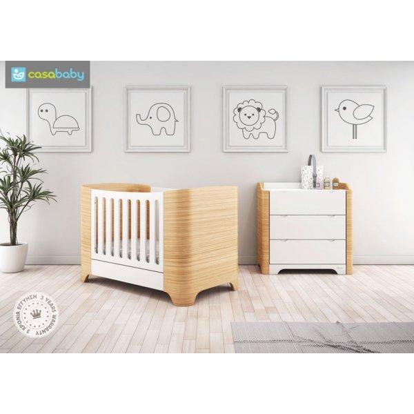 Casababy Παιδικό Κρεβάτι λίκνο Harmony