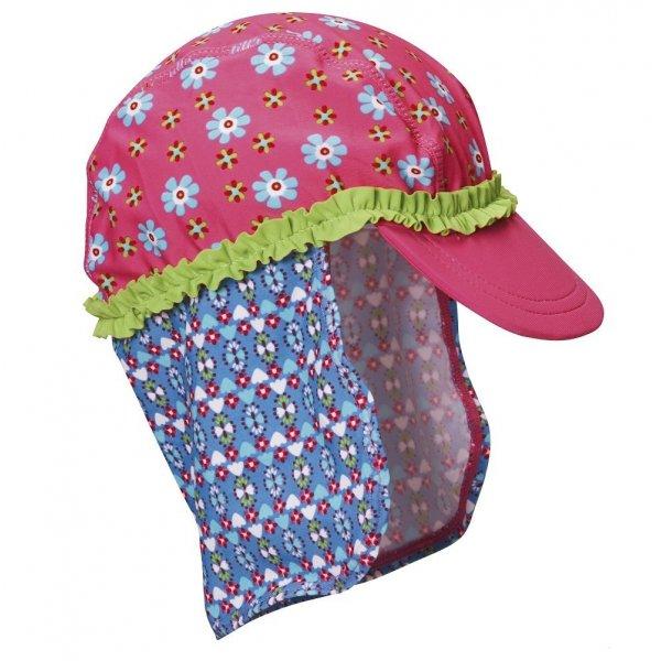 Playshoes αντηλιακό  Καπέλο UV basebal Flower 51cm