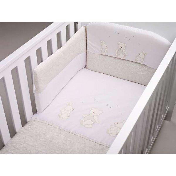BebeCor σετ προίκα μωρού 6τεμ Περπατούλιδες Μπέζ