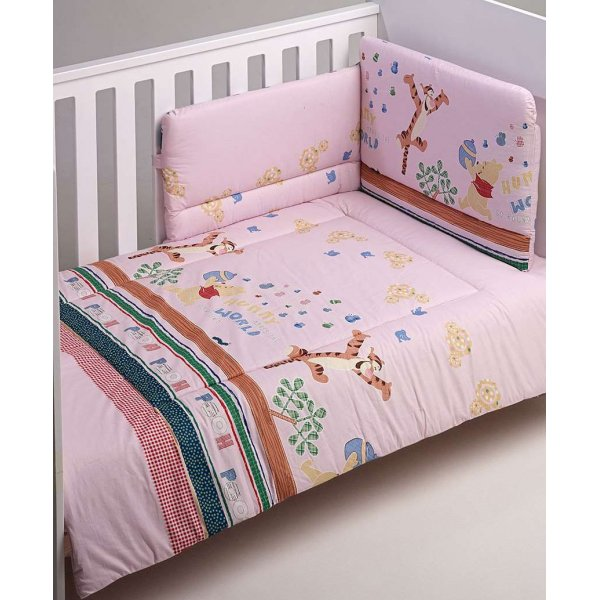 BebeCor σετ προίκα μωρού 3τεμ winnie Pink