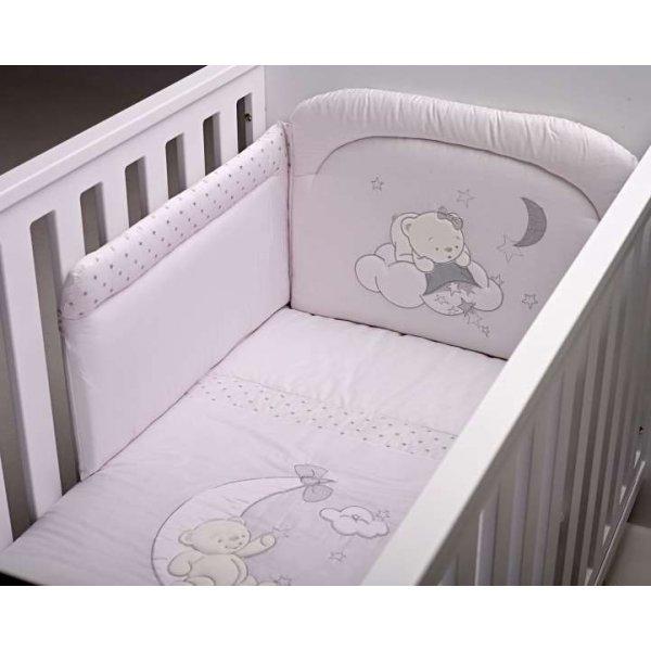 BebeCor σετ προίκα μωρού 6τεμ φεγγαράκι λευκό