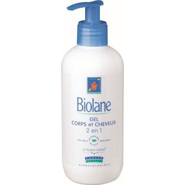 Biolane Σαμπουάν & Αφρόλουτρο 2 σε 1 350ml -Χωρίς Σαπούνι