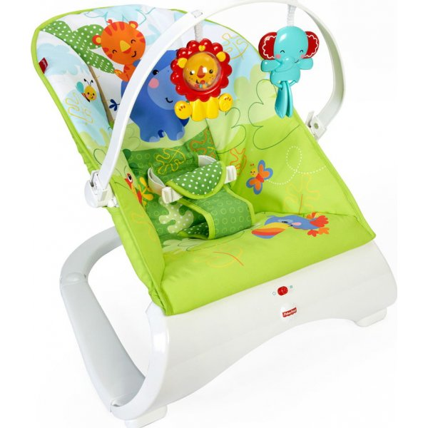 Fisher Price Ρηλάξ Rainforest Friends CJJ79