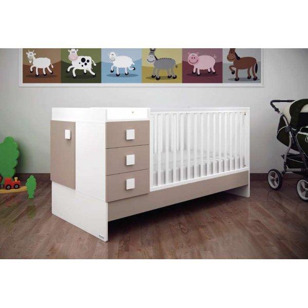 Casababy Παιδικό Κρεβάτι  Combinato και Δώρο το πλαϊνό προστατευτικό κάγκελο