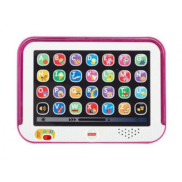 Fisher Price Εκπαιδευτικό Tablet ρόζ DKK07
