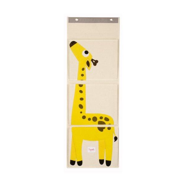 3 sprouts  Wall organizer giraffe
