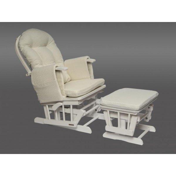 Neonato Καρέκλα Θηλασμού με ρυθμιζόμενη πλάτη Sofia λευκή