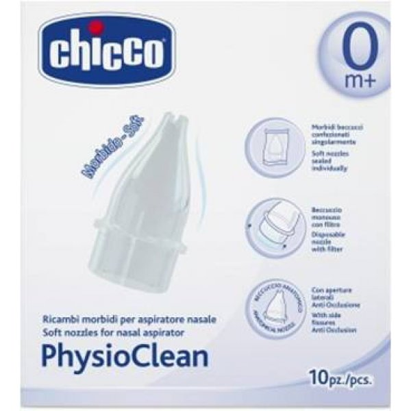 Chicco PHYSIOCLEAN ΑΝΤΑΛΛΑΚΤΙΚΑ 10ΤΕΜ H07-04982-00