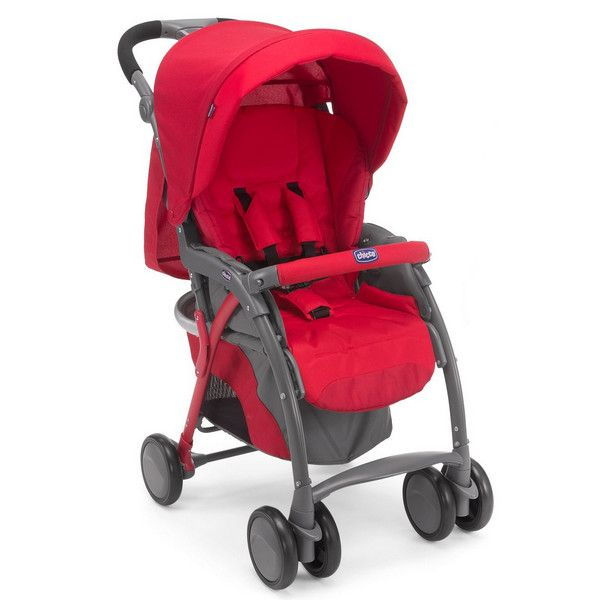 Chicco καρότσι simplicity red