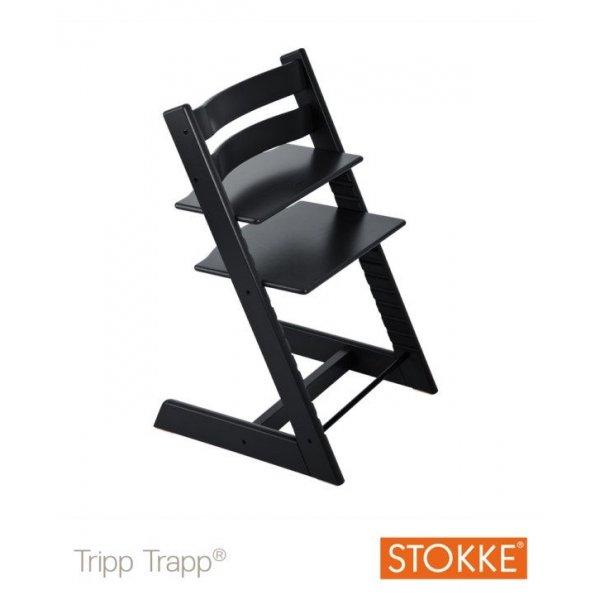 Stokke Tripp Trapp κάθισμα φαγητού Black