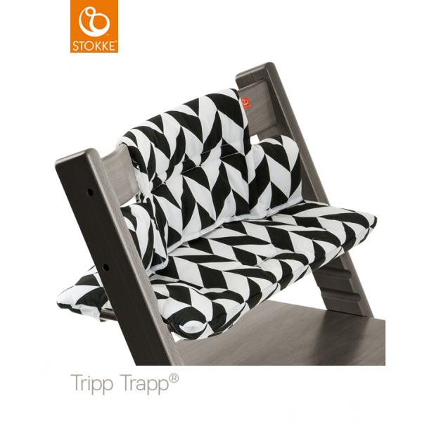 Stokke μαξιλάρια για tripp trapp Black Chevron