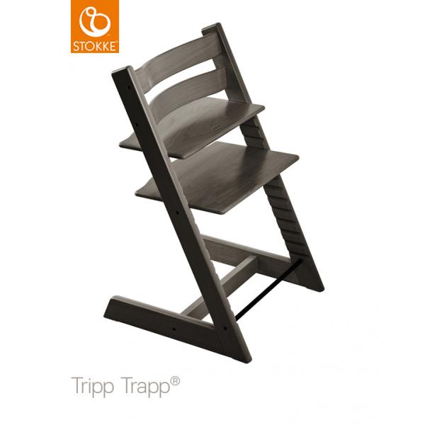 Stokke Tripp Trapp κάθισμα φαγητού Hazy Grey