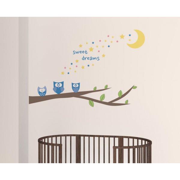 Creative Printing Παιδικά Αυτοκόλλητο τοίχου Sweet dreams
