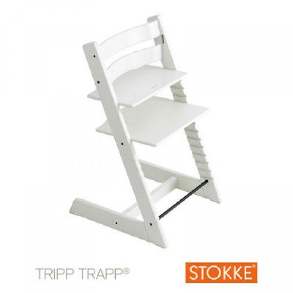 Stokke Tripp Trapp κάθισμα φαγητού white