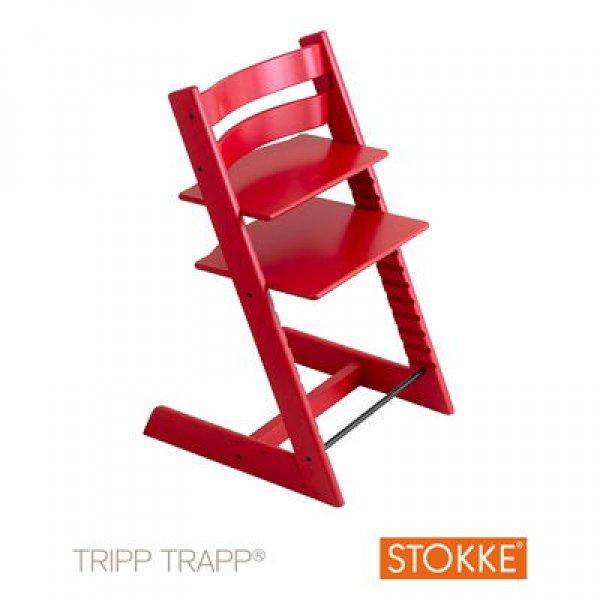 Stokke Tripp Trapp κάθισμα φαγητού red