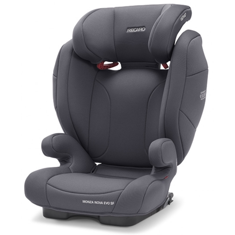 Recaro Παιδικό Κάθισμα Αυτοκινήτου Recaro Monza Nova Evo Seatfix Simply Grey
