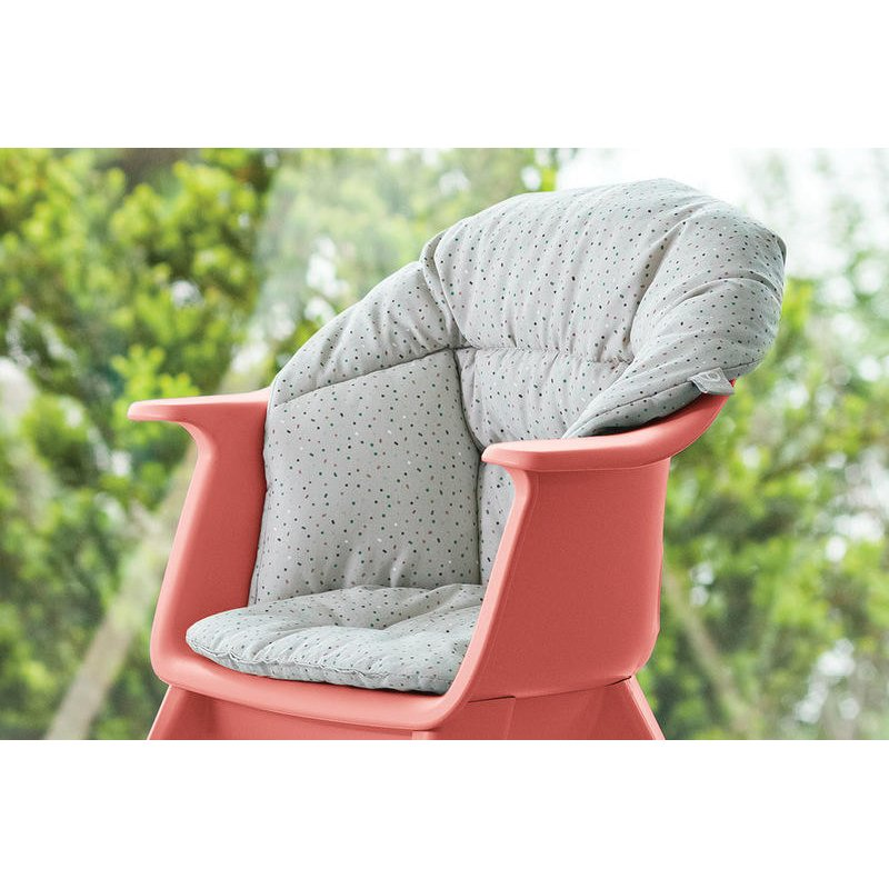 Stokke clikk cushion μαξιλάρι soft grey sprinkles (organic cotton)