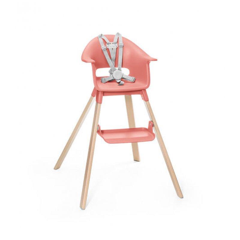 Stokke Clikk high chair κάθισμα φαγητού sunny coral