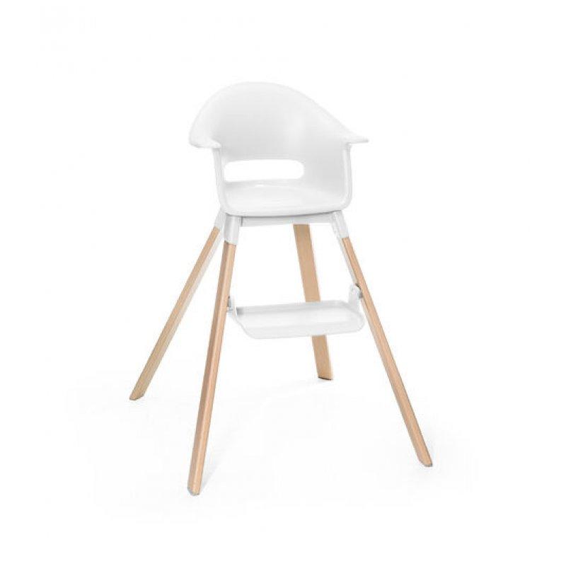 Stokke Clikk high chair κάθισμα φαγητού white