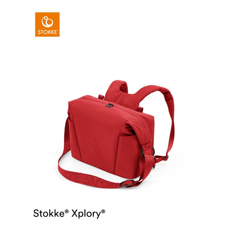 Stokke Xplory X Changing Bag Ruby Red