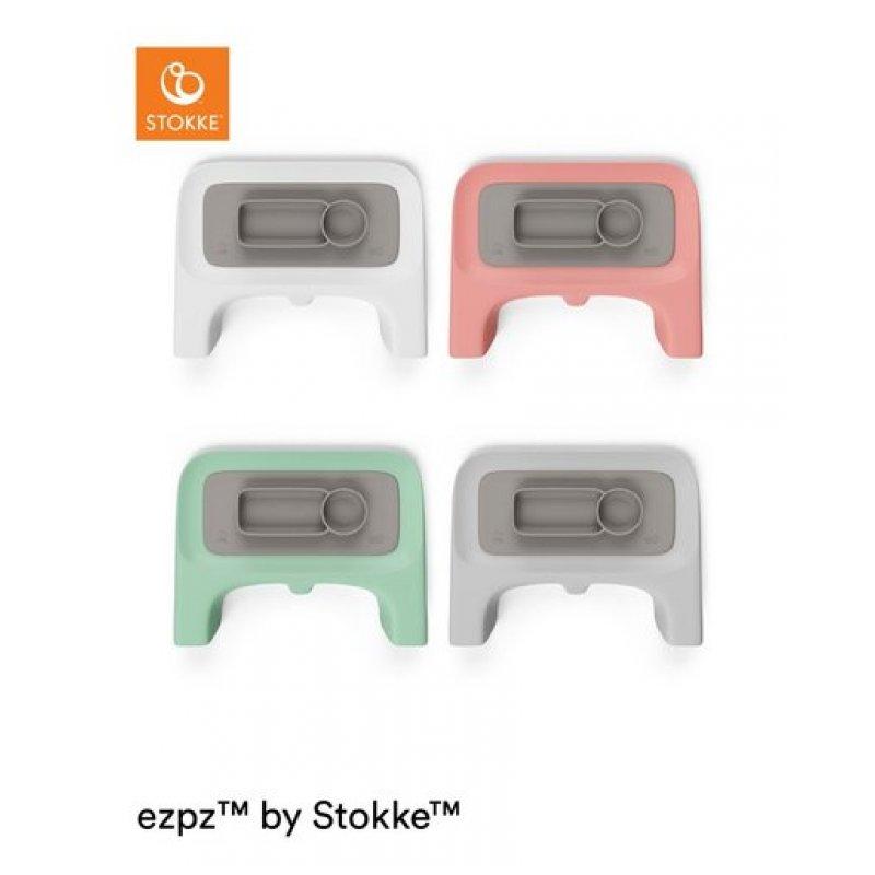 Stokke Σουπλά Σιλικόνης για τον Δίσκο Click Soft Grey