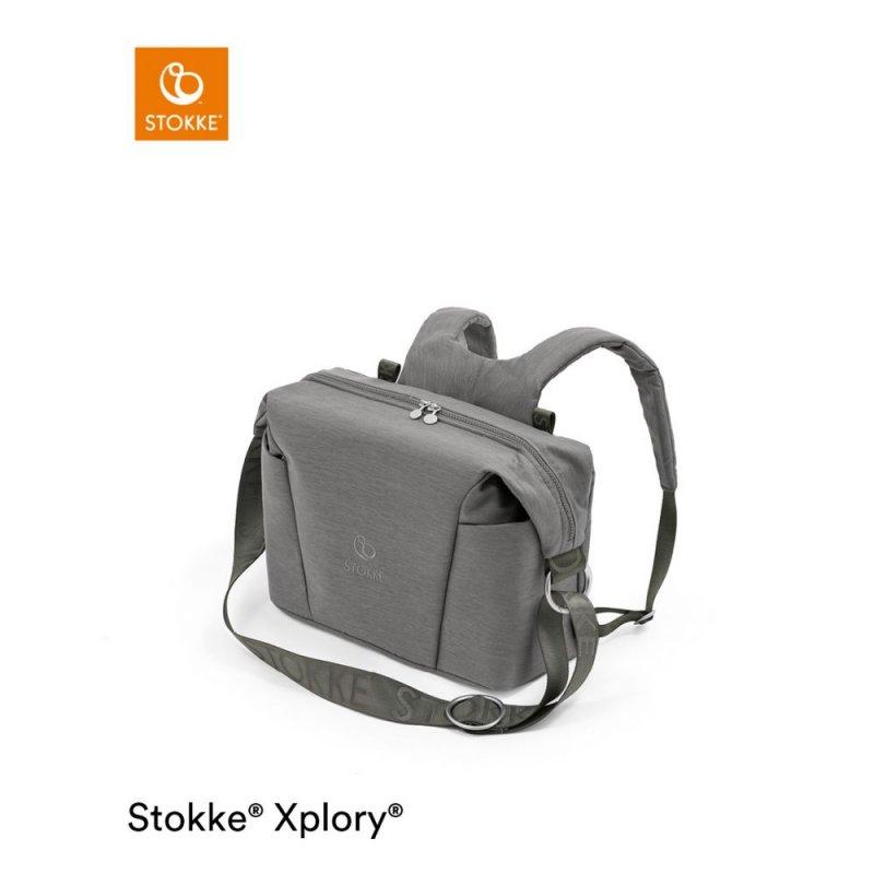 Stokke Xplory X Changing Bag Modern Grey