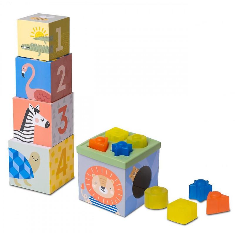 Taf Toys Παιχνίδι Δραστηριοτήτων Savannah Sort & Stack