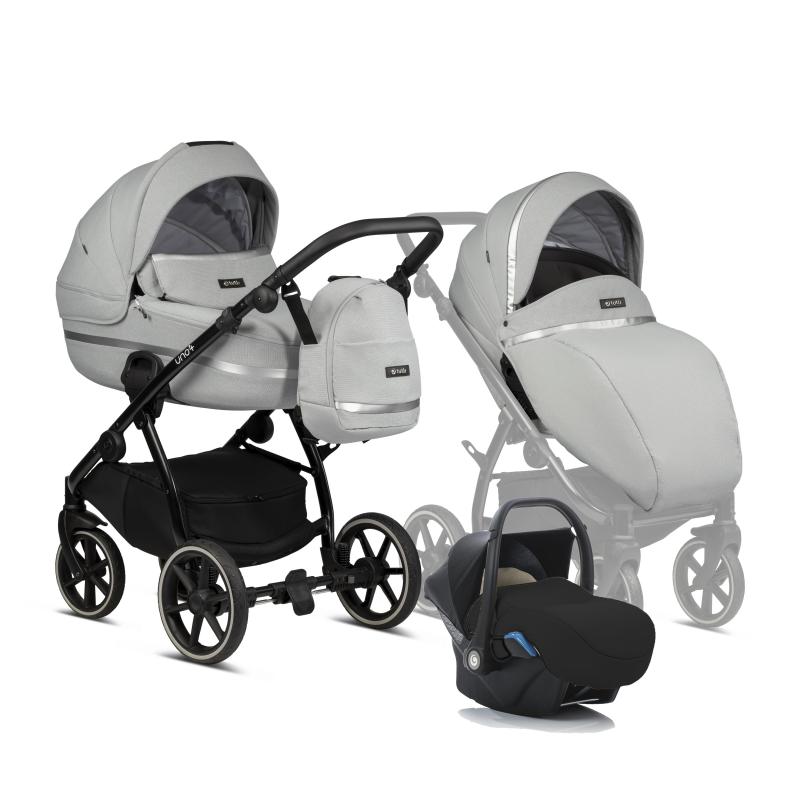 Tutis Uno 3 plus 3 in 1 σύστημα μετακίνησης Risso 142 με βάση αυτοκινήτου isofix carlo και Δώρο το κάθισμα αυτοκινήτου