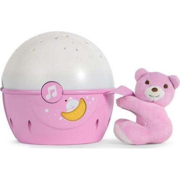 Chicco παιχνίδι κούνιας κοντά στα αστέρια ροζ