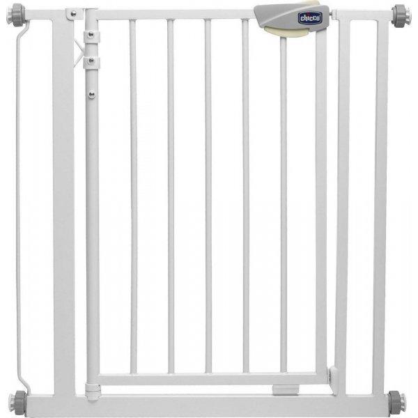 Chicco Μπαριέρα για Πόρτα Άσπρη 77x75 έως 82  cm