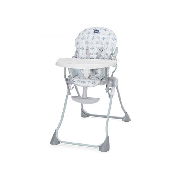 Chicco κάθισμα φαγητού pocket meal light grey