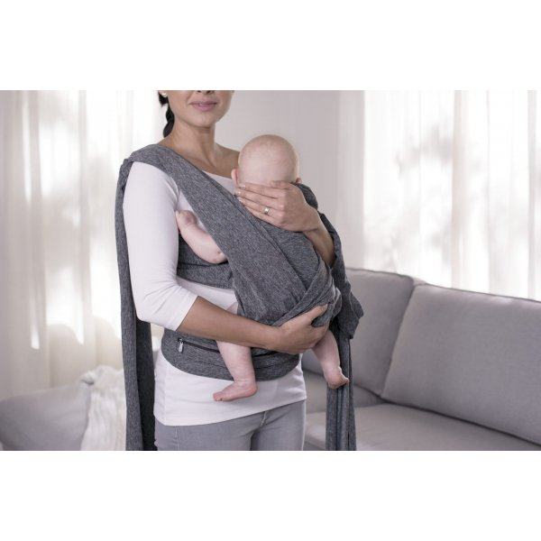 Chicco μάρσιπος Boppy comfy fit grey